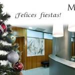 Felicitando la  Navidad